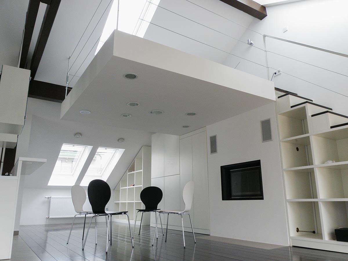 Loft / potkrovlje za kustosicu  Berislav Biondić - Arhitektura i Dizajn